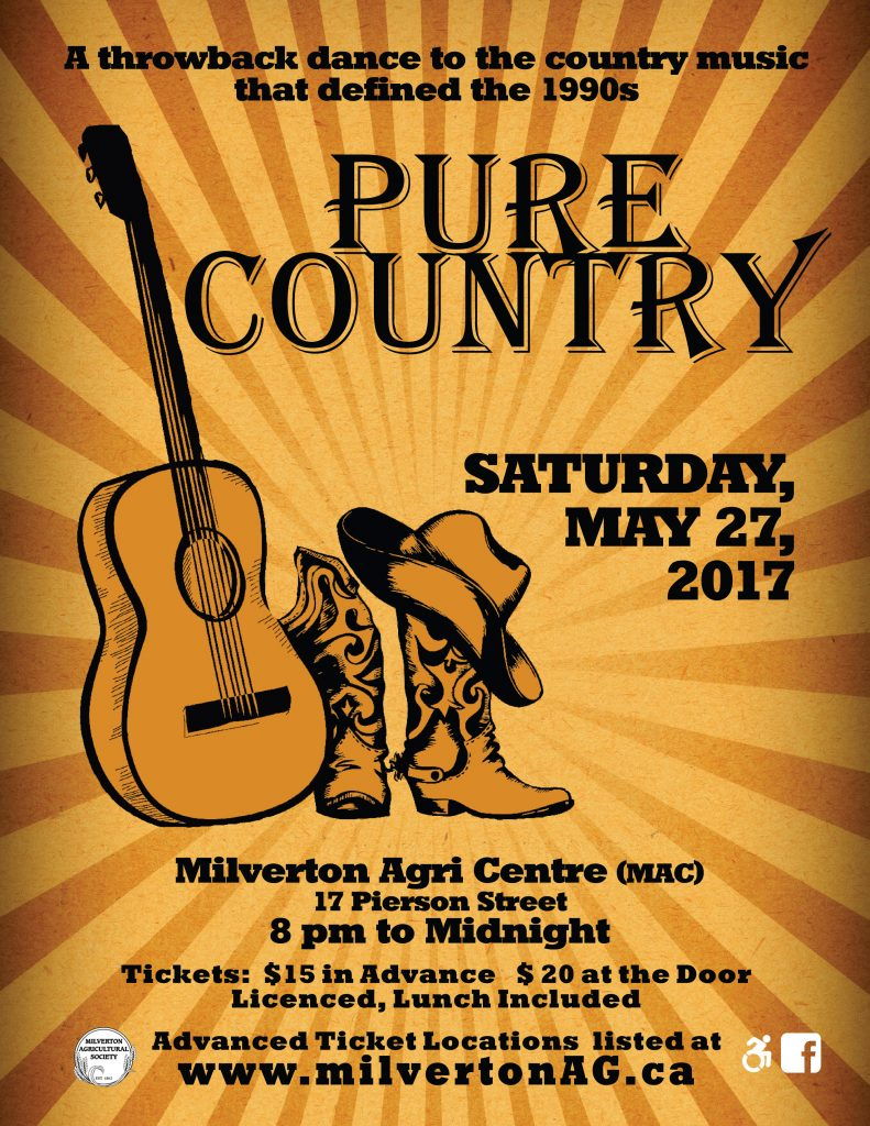 Pure Country 2017 poster (8.5x11) #2